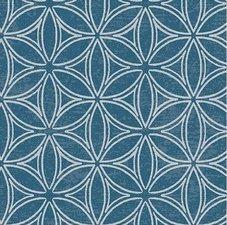 85x140cm Restje tafelzeil orbit blauw