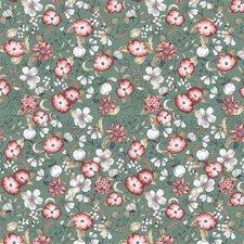 70x140cm Restje tafelzeil poppies bloemen