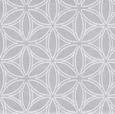 50x140cm Restje tafelzeil orbit zilvergrijs