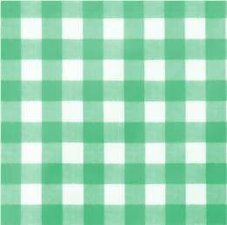 SALE Tafelzeil grote ruit groen 270x140cm