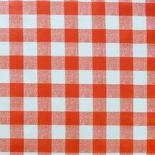 SALE tafelzeil grote ruit rood 115x140cm