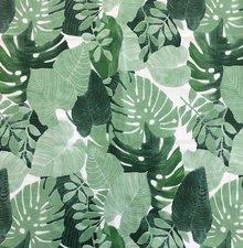 45x140cm Restje tafelzeil palmbladeren Botanic