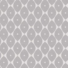 65x140cm Restje tafelzeil abstracte ovaaltjes grijs