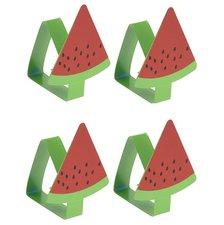 Tafelkleedklemmen watermeloen (set van 4)