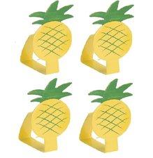 Tafelkleedklemmen ananas (set van 4)