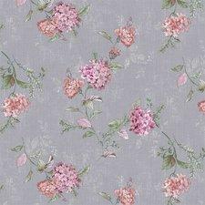 45x140cm Restje tafelzeil romantische bloem grijs