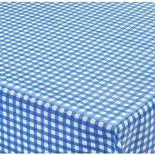70x140cm Restje tafelzeil ruitje blauw Paty