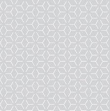 Tafelzeil geometrisch grijs