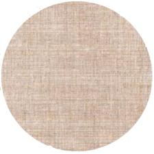 Rond tafelzeil tweed zandkleur (140 cm)
