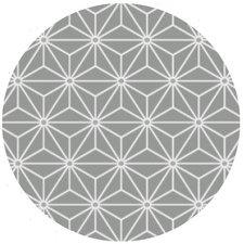 Rond tafelzeil Ice grijs (140 cm)