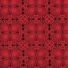 Tafelzeil kant rood