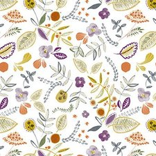 Ovaal tafelzeil wilde bloemen