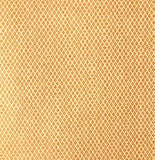 Wasbaar tafelzeil oker geel ruitje