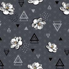 Tafelzeil geometrische bloem