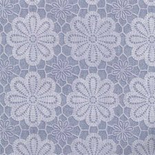 Tafelzeil vintage bloemen blauw