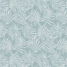 35x140 Restje tafelzeil bamboe zeeblauw