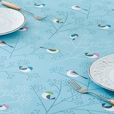 Ovaal tafelzeil vogel polyester