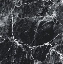 Tafelzeil Marmer zwart