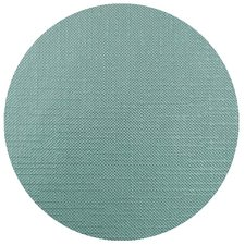 Rond tafelzeil linnen look mint turquoise 140cm