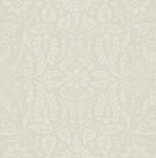 40x140cm Restje tafelzeil ornament naturel
