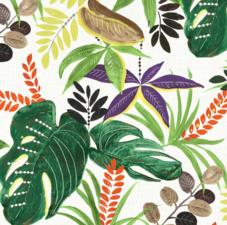 Tafelzeil tropische planten