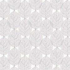 SALE tafelzeil leafs abstract grijs 130x140cm