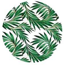 Rond tafelzeil tropisch regenwoud (140cm)