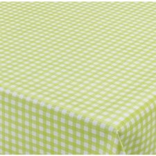 65x140cm Restje tafelzeil ruitje groen Paty