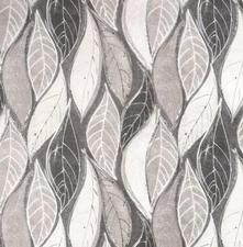 SALE tafelzeil leafs grey 135x140cm