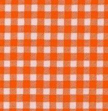 60x120cm Restje Mexicaans tafelzeil ruitjes oranje