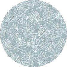 Rond tafelzeil bamboe zeeblauw (140cm)