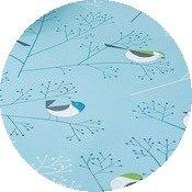 Rond tafelzeil vogel polyester (circa 140cm)