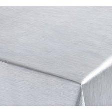 SALE tafelzeil RVS look 135x140cm