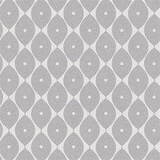 Ovaal tafelzeil abstracte ovaaltjes grijs