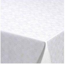 45x140cm Restje tafelzeil Damast vierkantjes