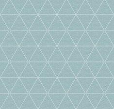 45x140cm Restje tafellinnen triangle mint groen (wasbaar)