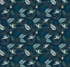 Tafelzeil Paradijsvogelbloemen