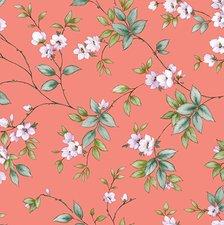 Tafelzeil koraal bloemen