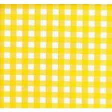 SALE Mexicaans tafelzeil ruitjes geel 125x120cm