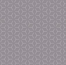 Ovaal tafelzeil geometrisch donkergrijs