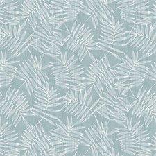 85x140cm Restje tafelzeil bamboe zeeblauw