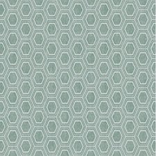 SALE tafelzeil honingraat groen/grijs 135x140cm