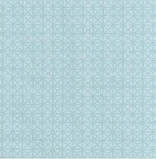 85x140cm Restje tafelzeil vintage Andy lichtblauw