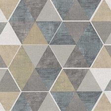 SALE tafelzeil abstracte honingraat 115x140cm