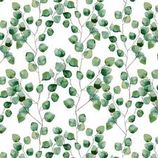 40x140cm Restje tafelzeil fris groen blad