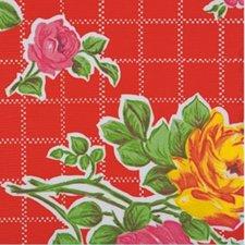 SALE Mexicaans tafelzeil rosendal rood 110x120cm
