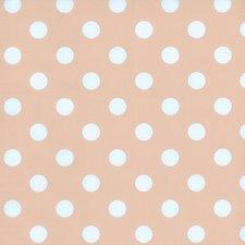 Tafelzeil roze wit met witte stippen
