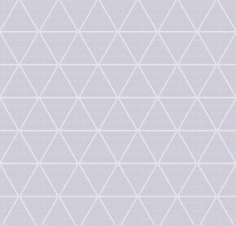 Wasbaar tafelzeil Triangle lichtgrijs