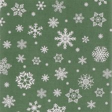 Kerst tafelzeil groen 140x200cm