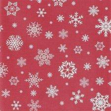Kerst tafelzeil rood 140x250cm